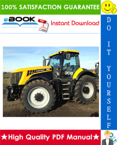 JCB 8280, 8310 Fastrac Service Repair Manual | eBooks | Technical
