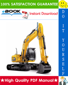 JCB JS115, JS130, JS145, JS160, JS180, JS200, JS210, JS220 Tracked Excavator Service Repair Manual | eBooks | Technical
