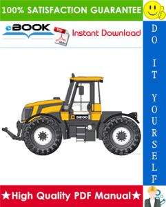 JCB 3200, 3230 Tier 4 Fastrac Service Repair Manual | eBooks | Technical
