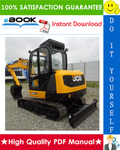 JCB 8061 Mini Crawler Excavator Service Repair Manual | eBooks | Technical