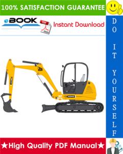 JCB 8040, 8045, 8050, 8055 Mini Excavator Service Repair Manual | eBooks | Technical