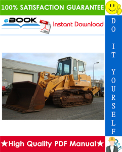 liebherr lr622, lr622b, lr632, lr632b series 2 litronic crawler loader service repair manual