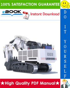 liebherr r996 hydraulic excavator service repair manual