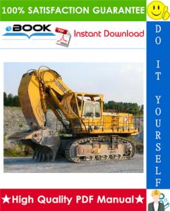 liebherr r952, r962, r972, r982 excavator service repair manual