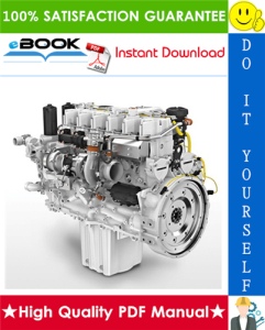 liebherr d934 - d936 diesel engine operation & maintenance manual