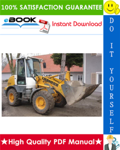 liebherr l504, l506, l507, l508, l509, l512, l522 wheel loader service repair manual