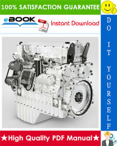 Liebherr D9508 A7 SCR Diesel Engine Service Repair Manual | eBooks | Technical