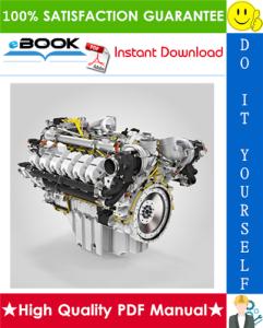 Liebherr D9512 A7 / D9512 A7-00 Diesel Engine Service Repair Manual | eBooks | Technical