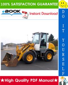 Liebherr L507 - 1259 Wheel loader Service Repair Manual | eBooks | Technical