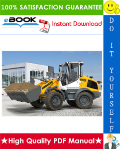liebherr l509 - 1262 wheel loader service repair manual
