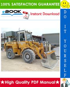 Liebherr L511, L521, L531, L541 Wheel Loader Service Repair Manual | eBooks | Technical