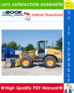 liebherr l514 - 1265 wheel loader service repair manual