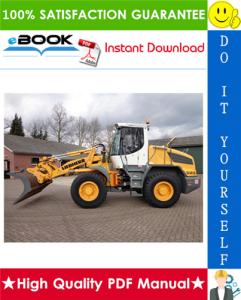 Liebherr L524, L534, L538 Wheel loader Service Repair Manual | eBooks | Technical