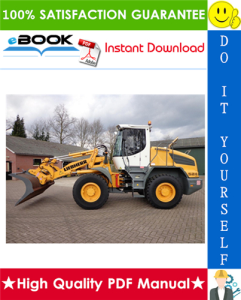 Liebherr L524 - 1585 Wheel loader Service Repair Manual | eBooks | Technical