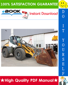 liebherr l538 - 1268 wheel loader service repair manual