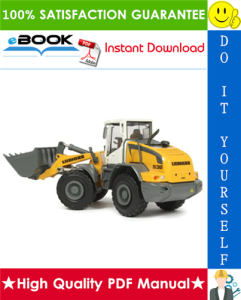 liebherr l538 - 1493 wheel loader service repair manual