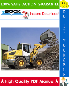 liebherr l542 - 1269 wheel loader service repair manual