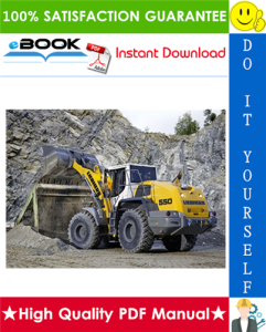 liebherr l550 - 1287 wheel loader service repair manual