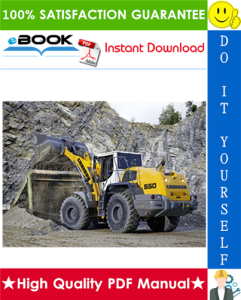 liebherr l550 - 1562 wheel loader service repair manual