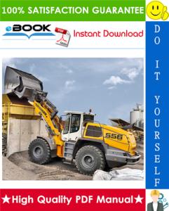 Liebherr L556 - 1289 Wheel loader Service Repair Manual | eBooks | Technical