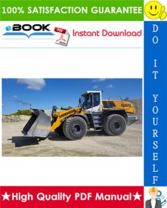 Liebherr L566 - 1168 Wheel loader Service Repair Manual | eBooks | Technical