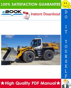 Liebherr L566 - 1618 Wheel loader Service Repair Manual   eBooks   Technical