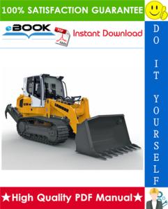 liebherr lr636 - 1275 crawler loader service repair manual