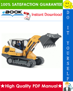 Liebherr LR624, LR634 Series 4 Litronic Crawler Loaders Service Repair Manual | eBooks | Technical