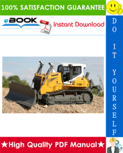 liebherr pr736 crawler dozer service repair manual