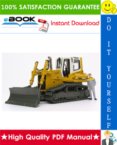 Liebherr PR724, PR734, PR744, PR754, PR764 Series 4 Litronic Crawler Dozer Service Repair Manual | eBooks | Technical