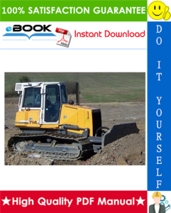 liebherr pr714 series 4 litronic crawler dozer service repair manual