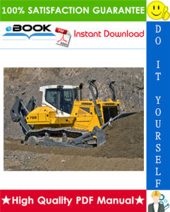 liebherr pr756 - 1312 crawler dozer service repair manual