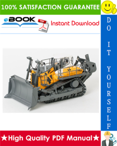 liebherr pr776 - 1296 crawler dozer service repair manual