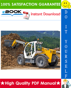 Liebherr TL432 - 1483 Telescopic Handler Service Repair Manual | eBooks | Technical