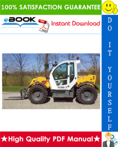 liebherr tl436 - 1620 telescopic handler service repair manual