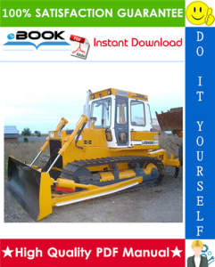 liebherr pr721, pr731, pr741 crawler dozer service repair manual