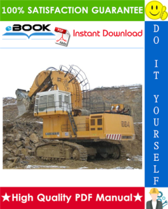 Liebherr R994B, R9350 Litronic Excavator Service Repair Manual | eBooks | Technical