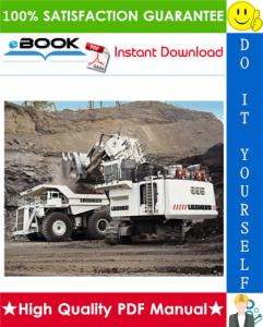 liebherr r995 litronic hydraulic excavator service repair manual