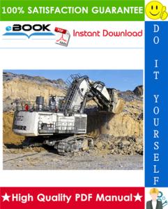 liebherr r9250 hydraulic excavator service repair manual