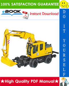 Liebherr A900C-ZW Litronic Hydraulic Excavator Service Repair Manual | eBooks | Technical