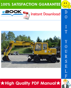 Liebherr A900-ZW Litronic Hydraulic Excavator Service Repair Manual | eBooks | Technical