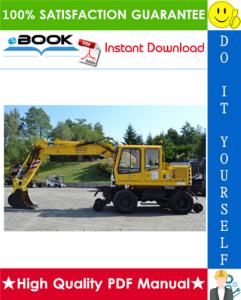 liebherr a900-zw litronic hydraulic excavator service repair manual