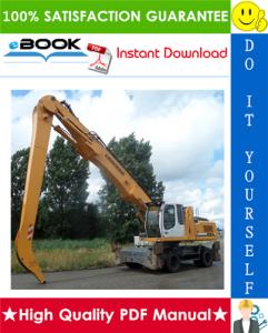 liebherr a934c, a944c-hd, a954c-hd litronic hydraulic excavator service repair manual