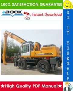 Liebherr A934, A934B, A944HD, A944B-HD, A954HD, A954B-HD Litronic Hydraulic Excavator Service Repair Manual | eBooks | Technical