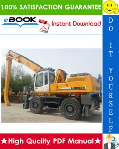 liebherr a934, a934b, a944hd, a944b-hd, a954hd, a954b-hd litronic hydraulic excavator service repair manual