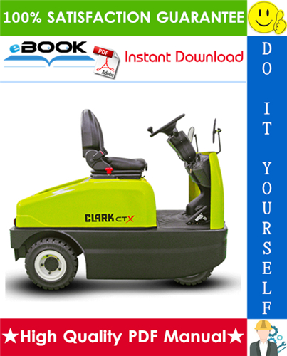 Clark CTX40, CTX70 Forklift Service Repair Manual