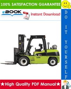 Clark C40D, C45D, C50sD, C55sD, C40L, C45L, C50sL, C55sL Forklift Trucks Service Repair Manual | eBooks | Technical