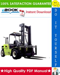 Clark C60D, C70D, C75D, C80D, C60L, C70L, C75L Forklift Trucks Service Repair Manual | eBooks | Technical
