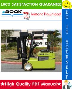 Clark TMG12, TMG13, TMG15s, TMG15, TMG17, TMG18, TMG20, TMG20x, TMG25, EPG 15, EPG 18 Forklift Trucks Service Repair Manual | eBooks | Technical