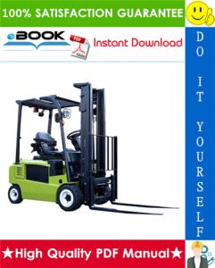 Clark TMX12, TMX13, TMX15s, TMX15, TMX17, TMX18, TMX20, TMX20x, TMX25 Forklift Trucks Service Repair Manual | eBooks | Technical